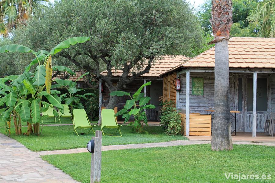 Bungalows en Camping Els Prats Village