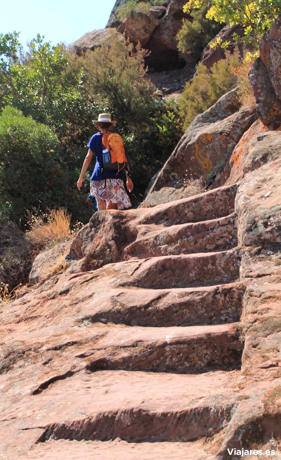 Las Escaleras del Diablo cinceladas en la roca