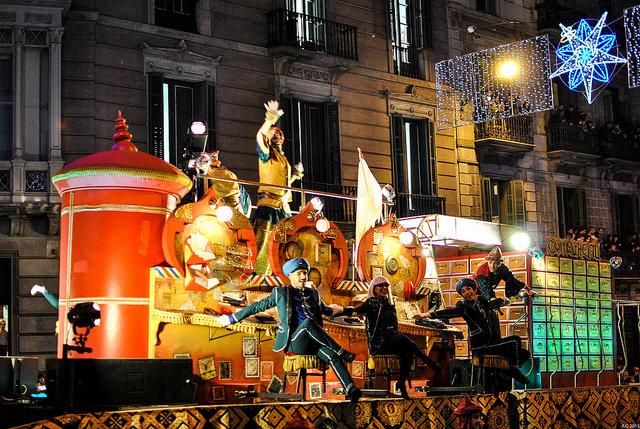 Cabalgata de los Reyes Magos en Barcelona | Foto © Angel Guedes