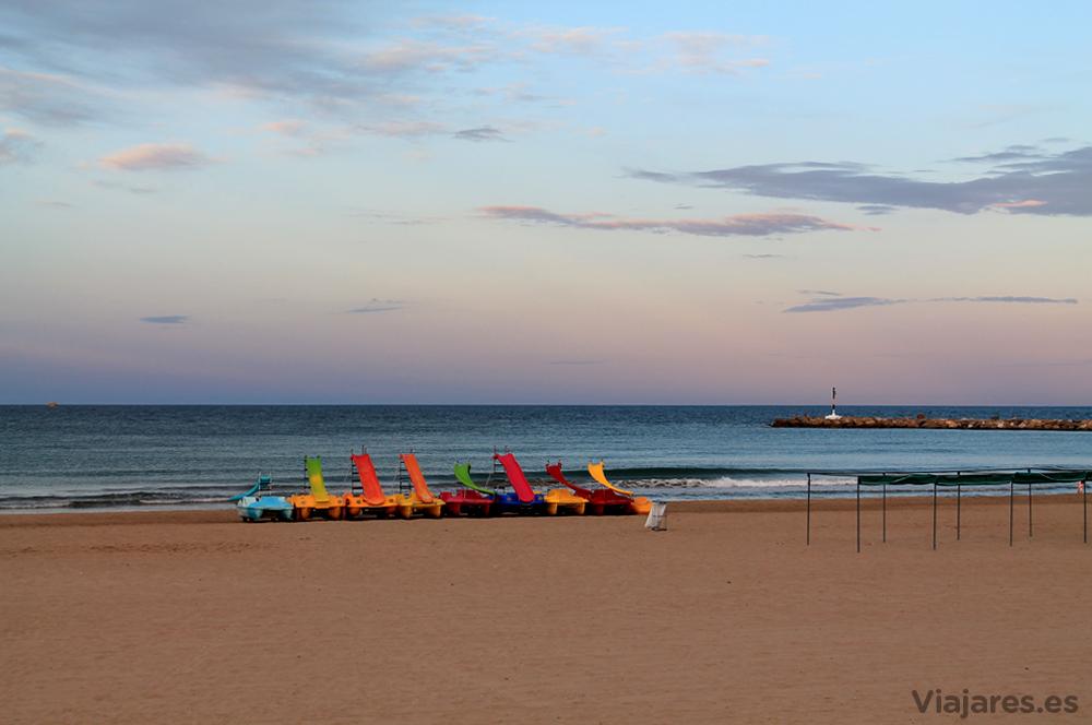 Playa de La Pineda en la Costa Daurada
