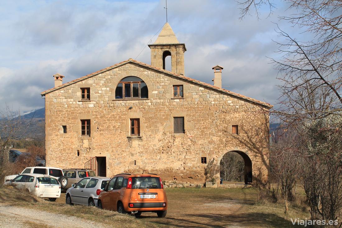 El edificio de la Rectoria de Montpol