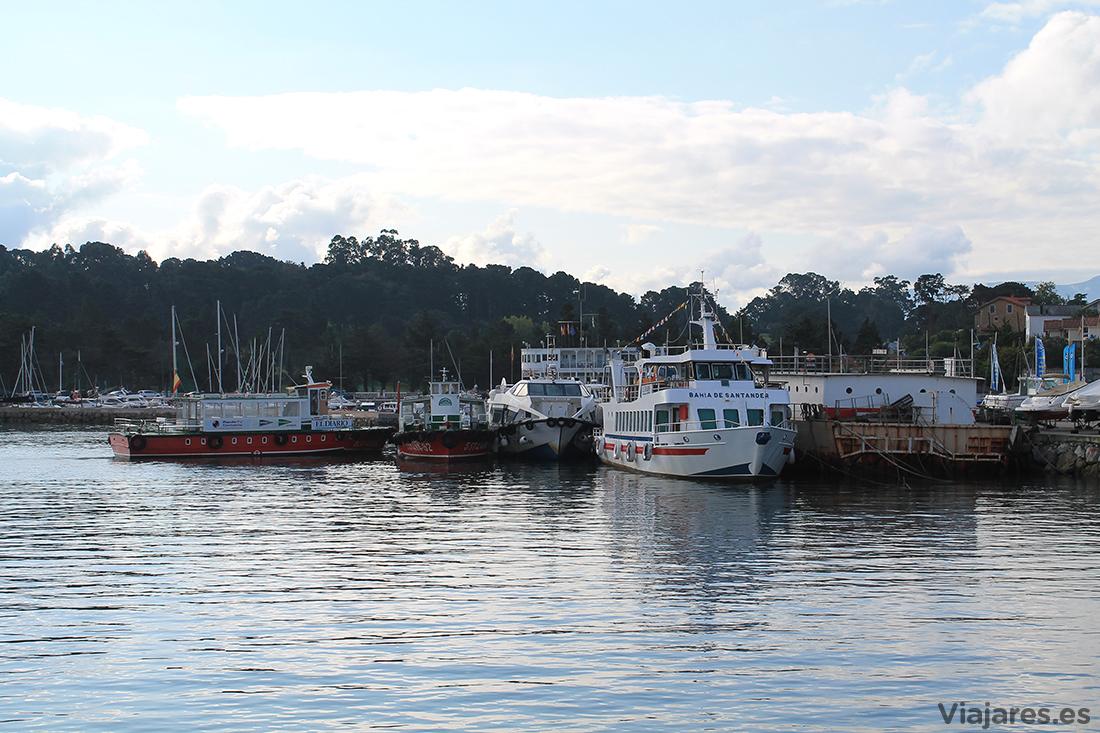 Embarcaciones en el puerto de Pedreña, Cantabria