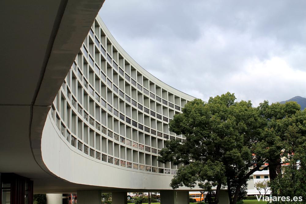 Arquitectura de Oscar Niemeyer en Madeira