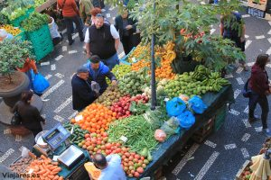 Mercado dos Lavradores en Funchal