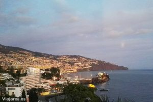 Vistas de Funchal desde el hotel Belmond Reid's Palace