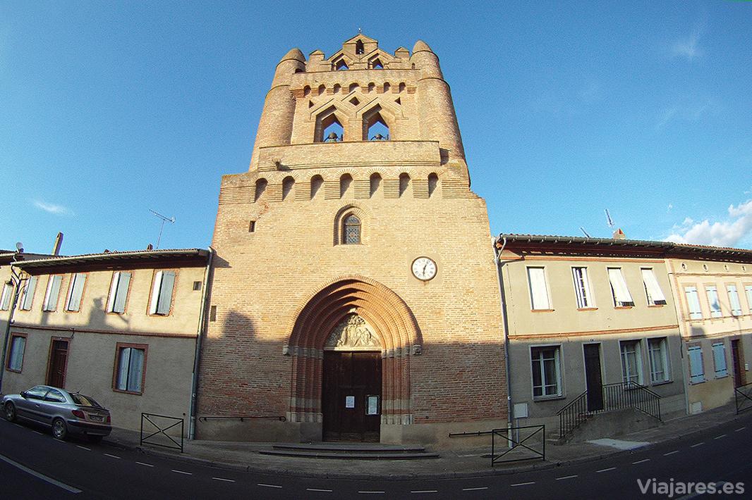 Iglesia de Saint-Serin en Villenouvelle