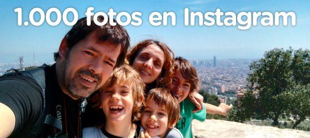 1.000 fotos publicadas en Instagram