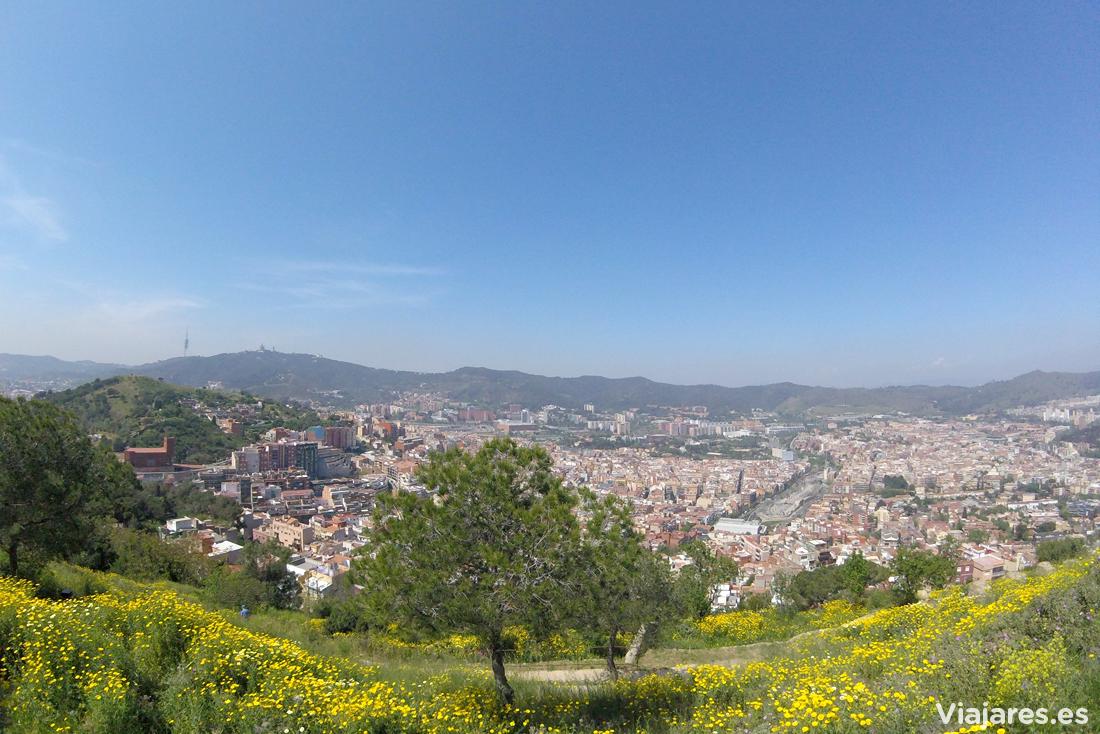 Panorama en dirección a Collserola