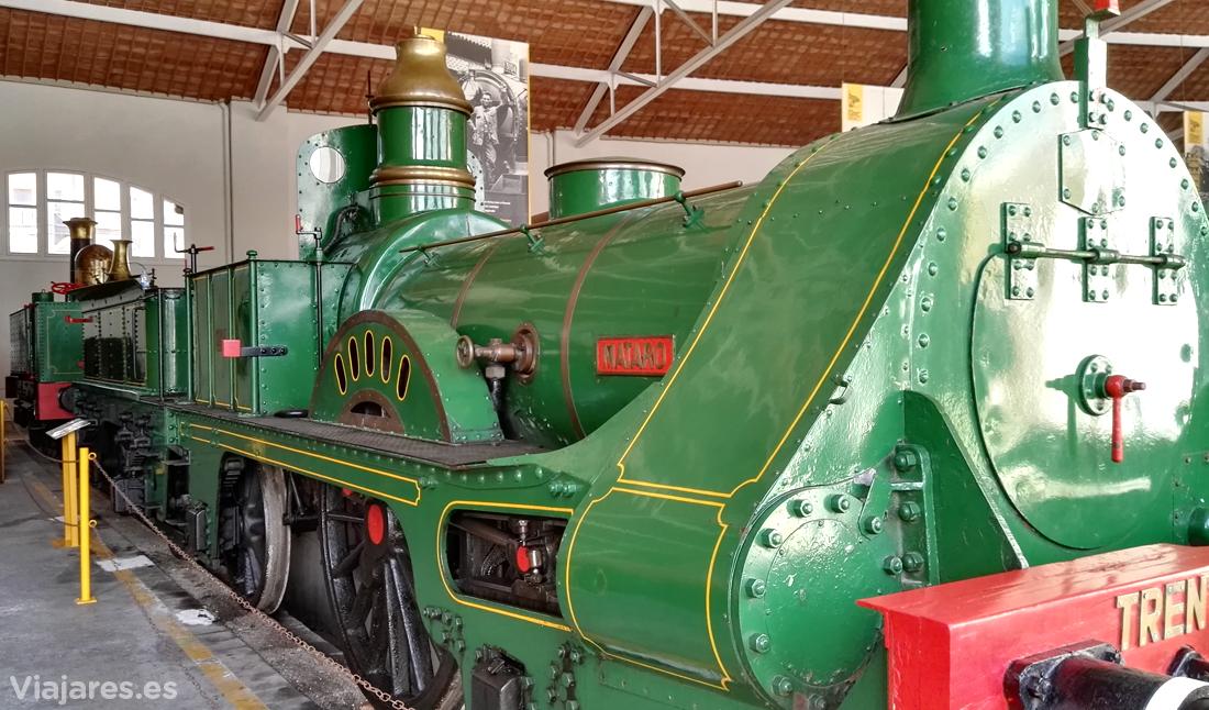 Tren del Centenario, locomotora Mataró