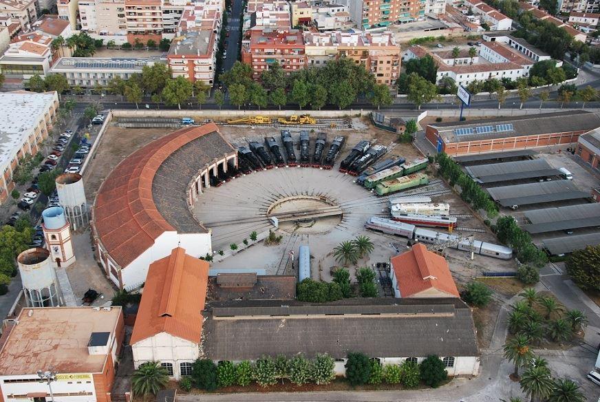 Foto aérea del museo