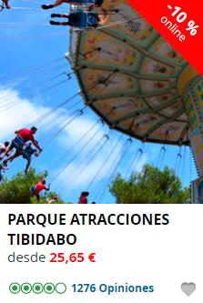 Parque de Atracciones Tibidabo de Barcelona