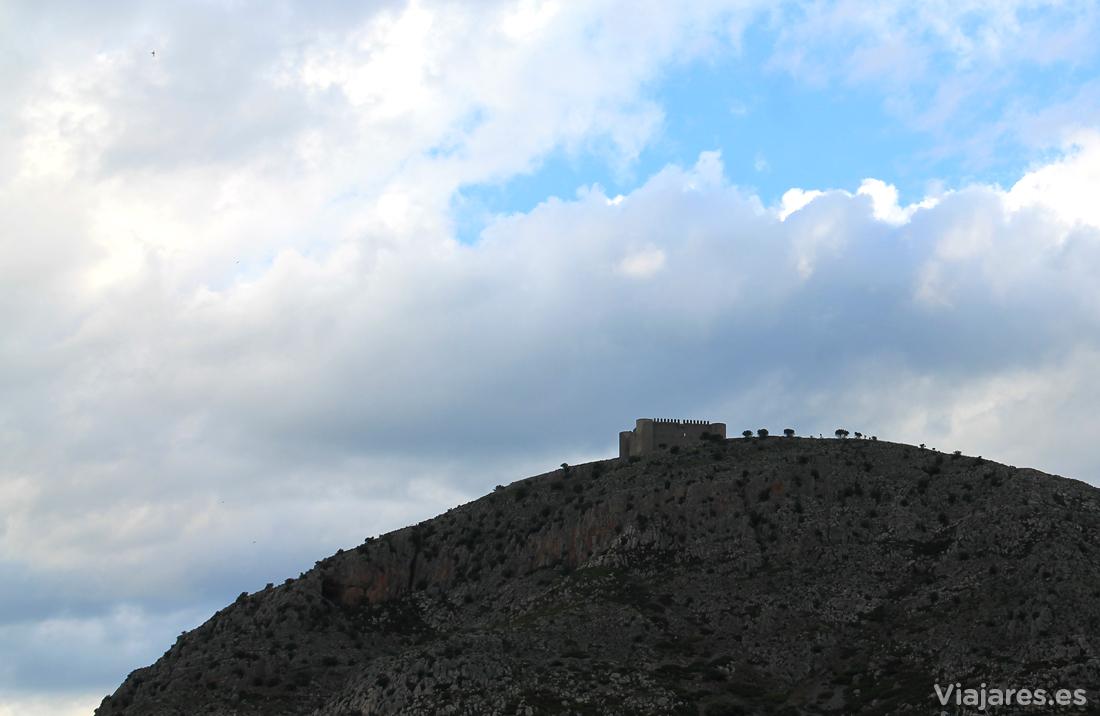 Perfil del Castillo de Torroella de Montgrí
