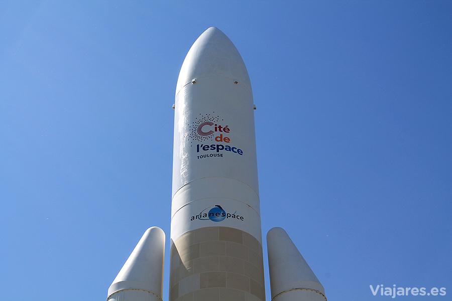 Punta del cohete Ariene