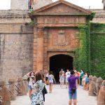 Entrada principal al castillo