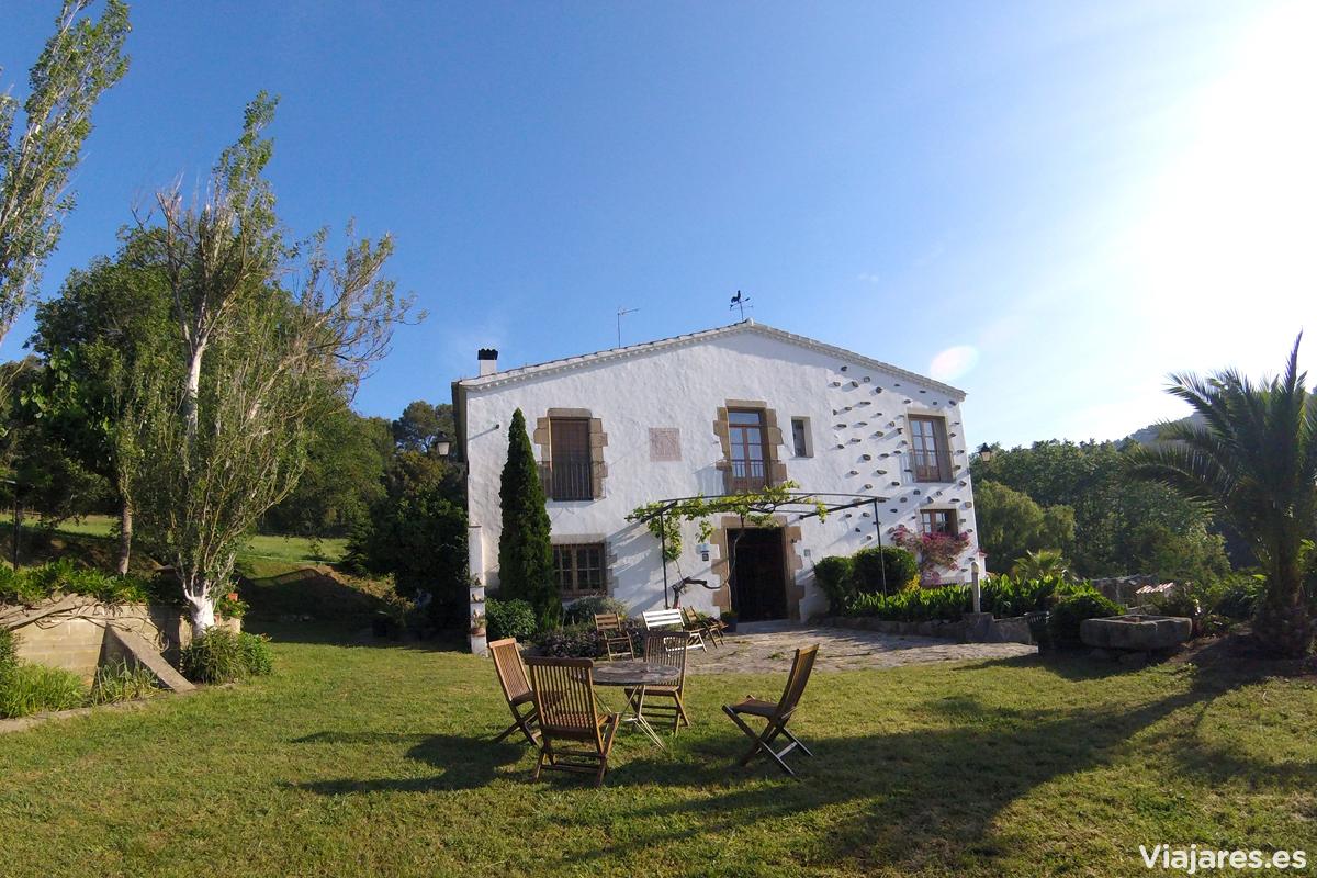 Casa rural Can Rosich en Santa Susanna