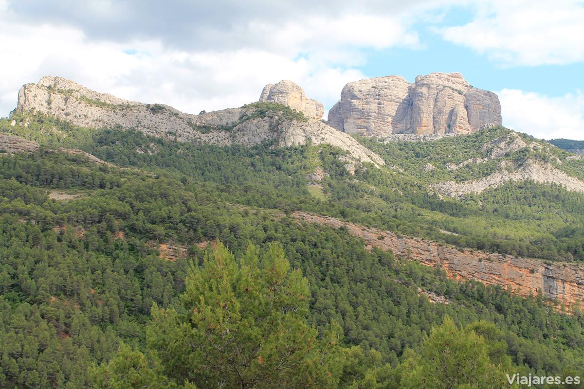 Las Rocas de Benet, en el Parque Natural de Els Ports