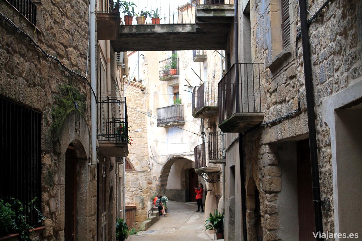 Horta de Sant Joan sorprende con la estructura de sus calles
