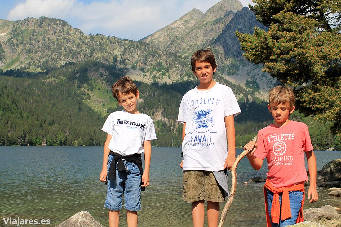 Disfrutando de la naturaleza con los peques en Valls d'Àneu