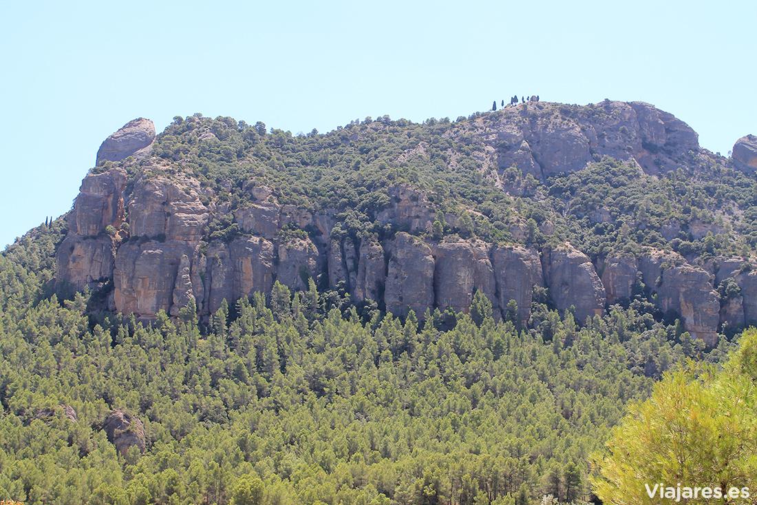 Montaña de Santa Bárbara, Horta de Sant Joan