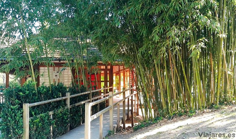 Jardín Japonés en el parque de Compans Caffareli