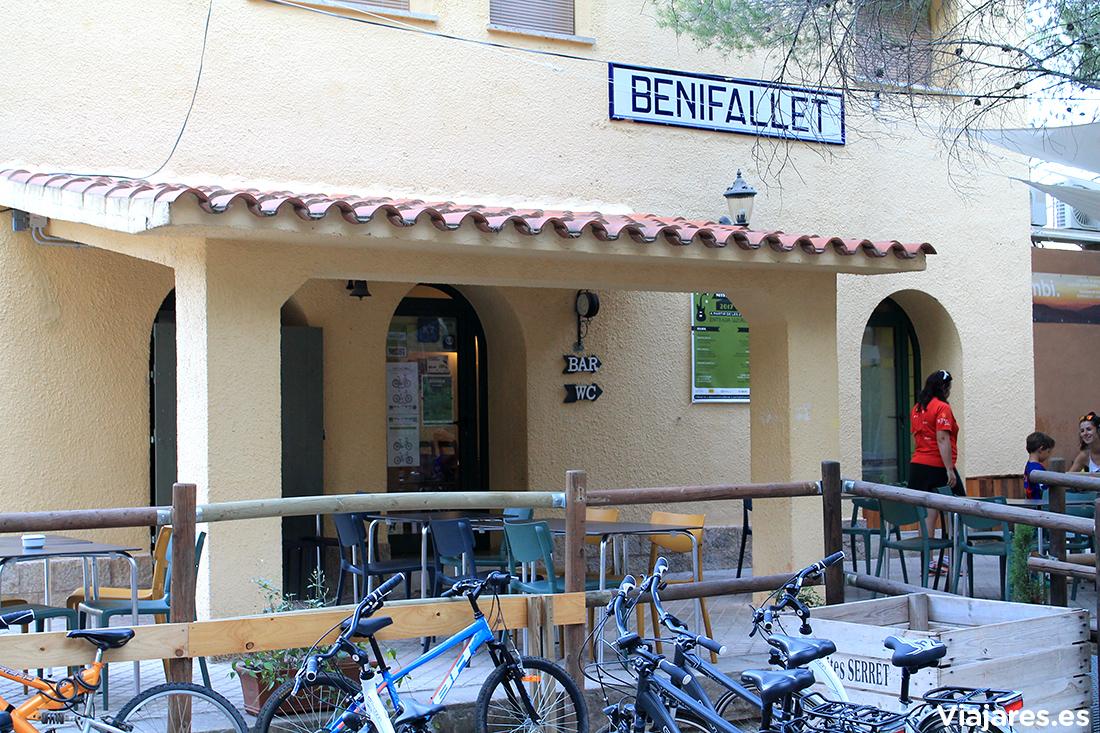 Antigua estación de Benifallet