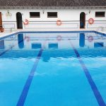 La piscina del Hotel Antiga