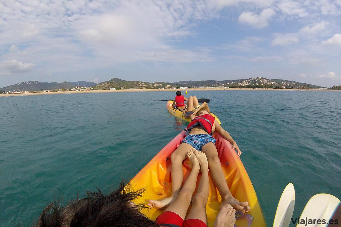 Momento de relax mecidos por el Mediterráneo