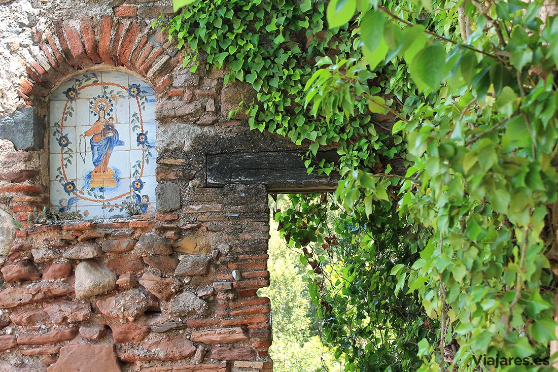 Restos de la antigua Casa Obac