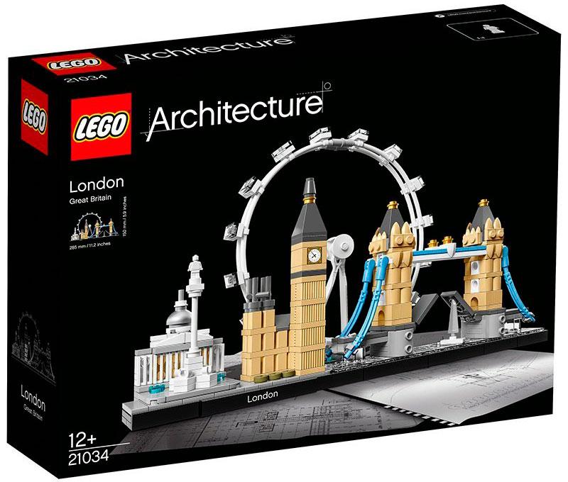 """Juego de construcción LEGO Architecture """"Londres"""""""