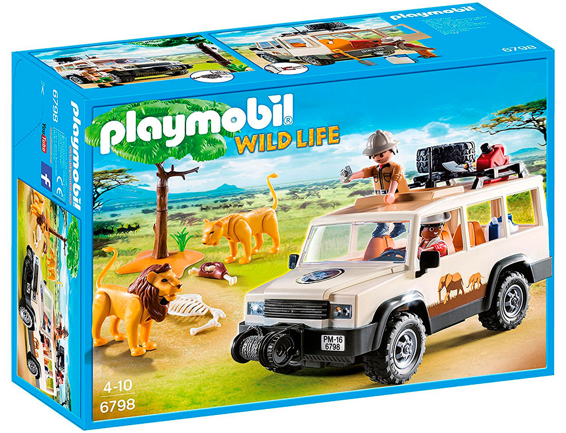 Safari y vida salvaje de Playmobil