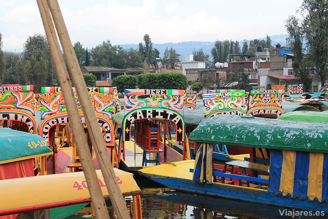 Embarcadero Catlongo en Xochimilco