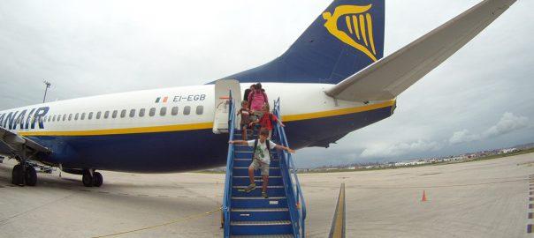 Viaje familiar con Ryanair