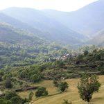 El pueblo de Cerbi en el valle de Unarre