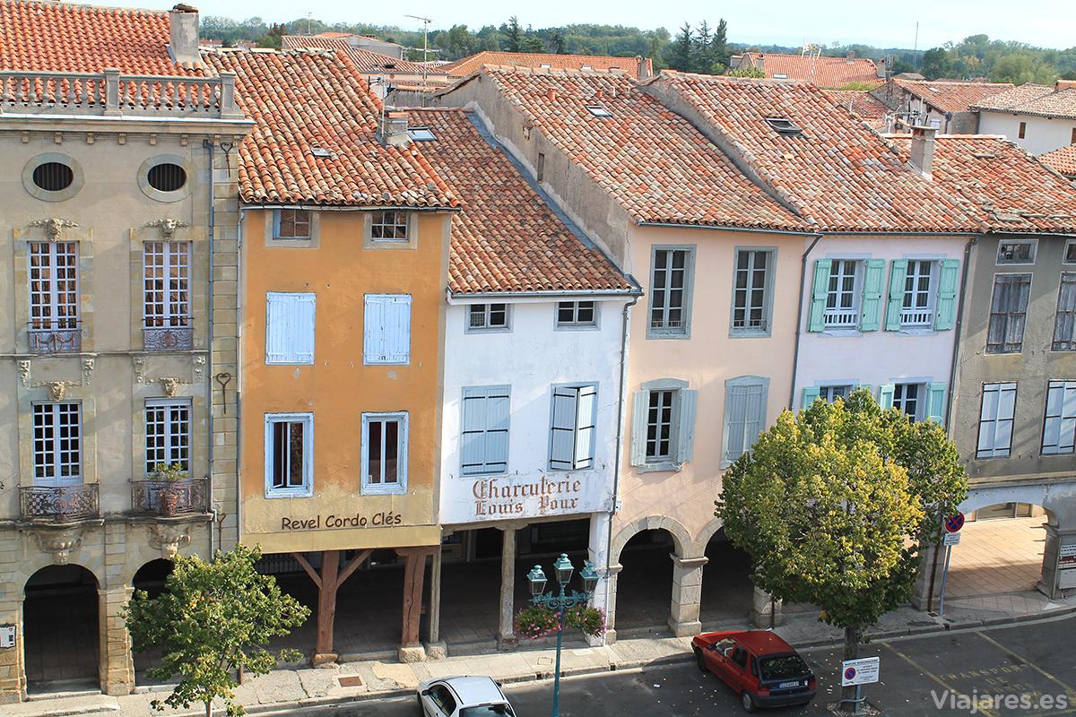 Edificios de Revel, Francia