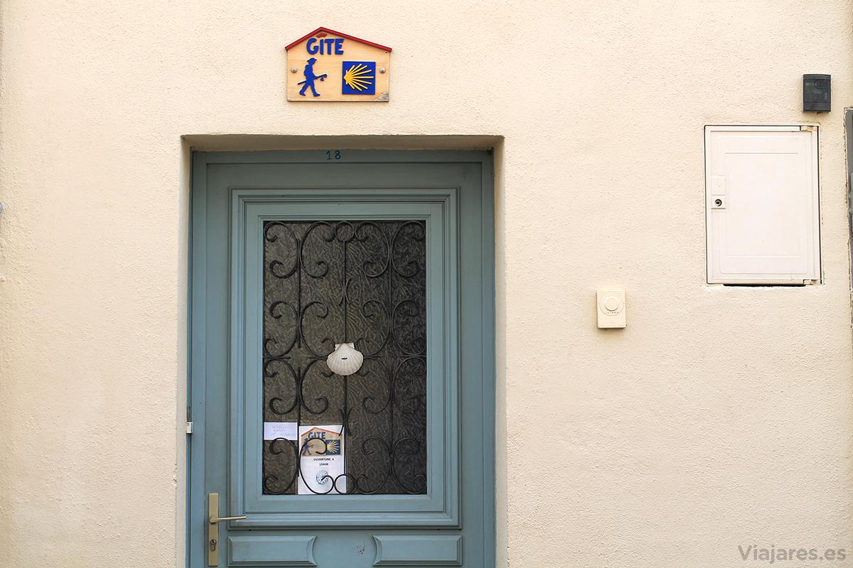 Alojamiento para peregrinos en Revel, Francia