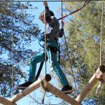 Acrobacias aéreas y retos en Diver Parc Lúdic