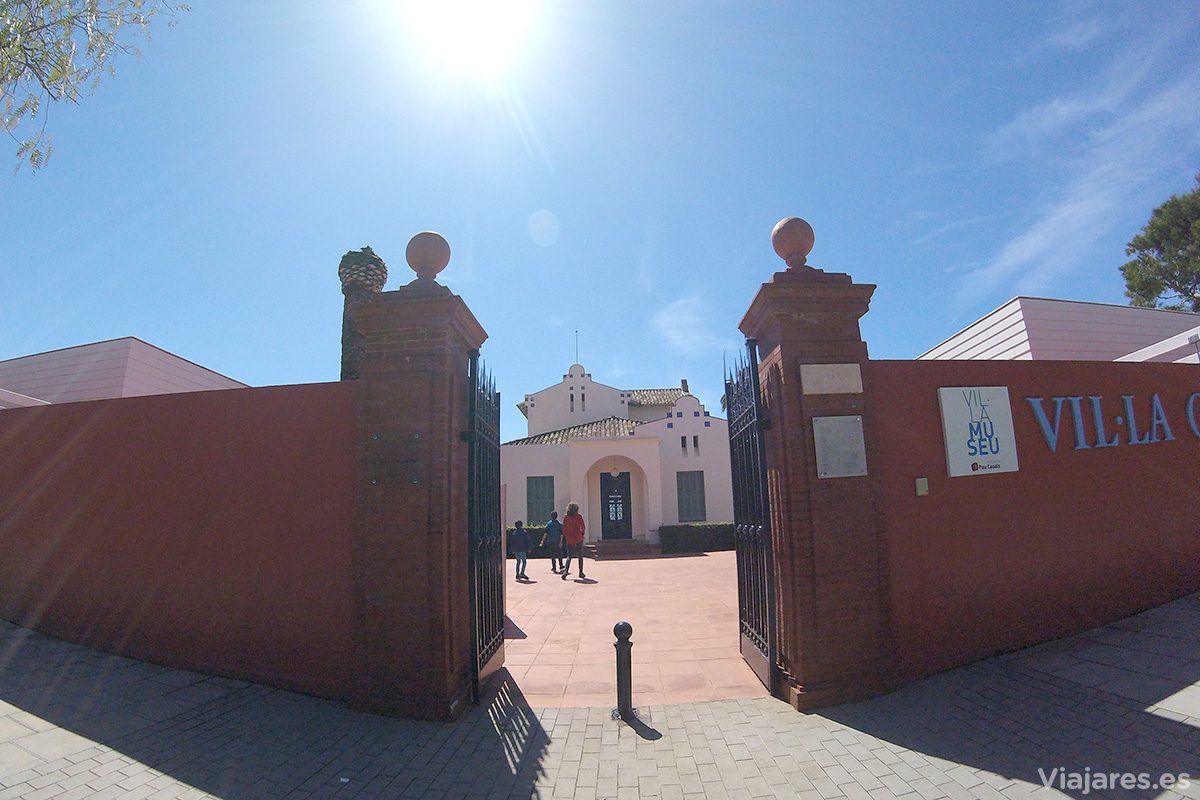 Entrada al Museo de Pau Casals en El Vendrell