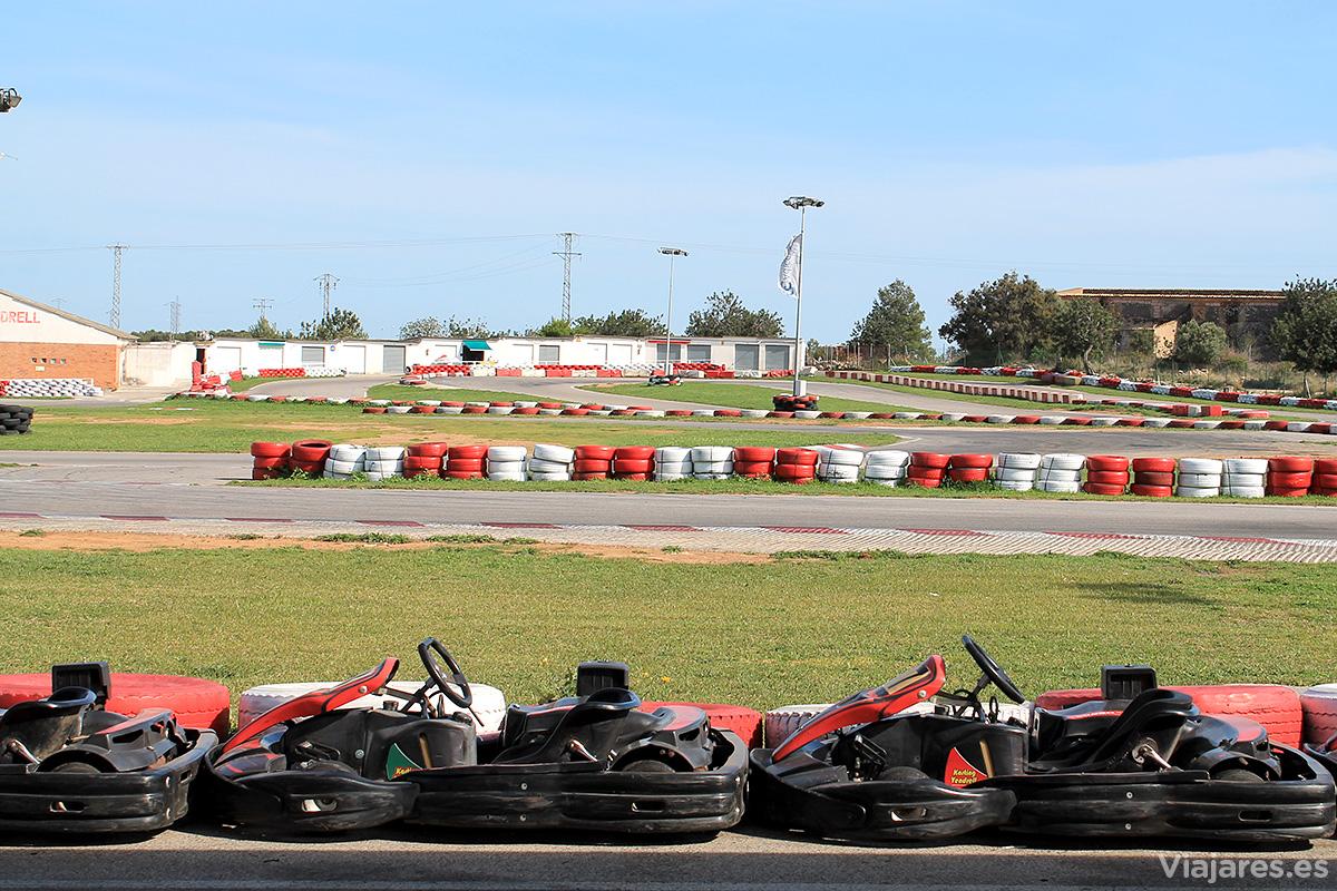 Pista de Karting Vendrell para las carreras de adultos