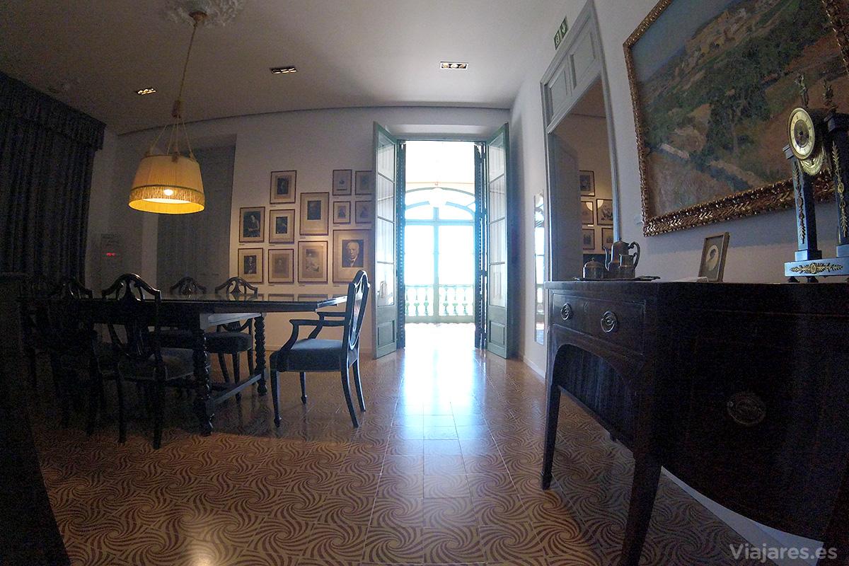 Habitaciones llenas de recuerdos de Pau Casals