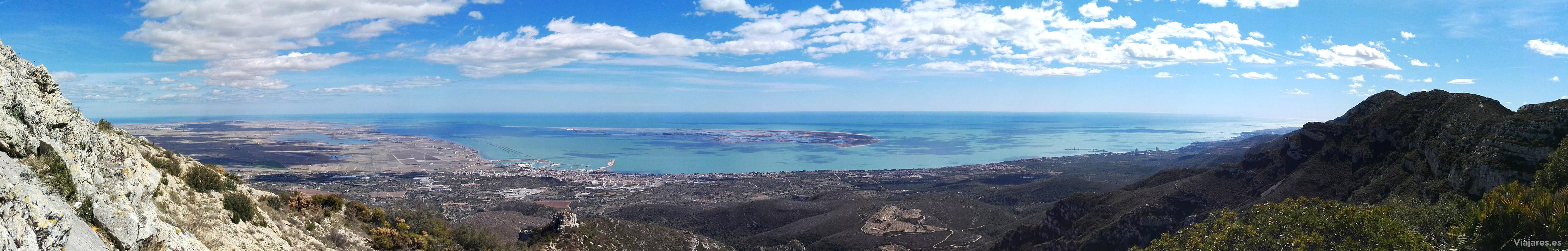 Vista panorámica desde La Foradada