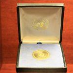 Medalla de la Paz otorgada a Casals por Naciones Unidas