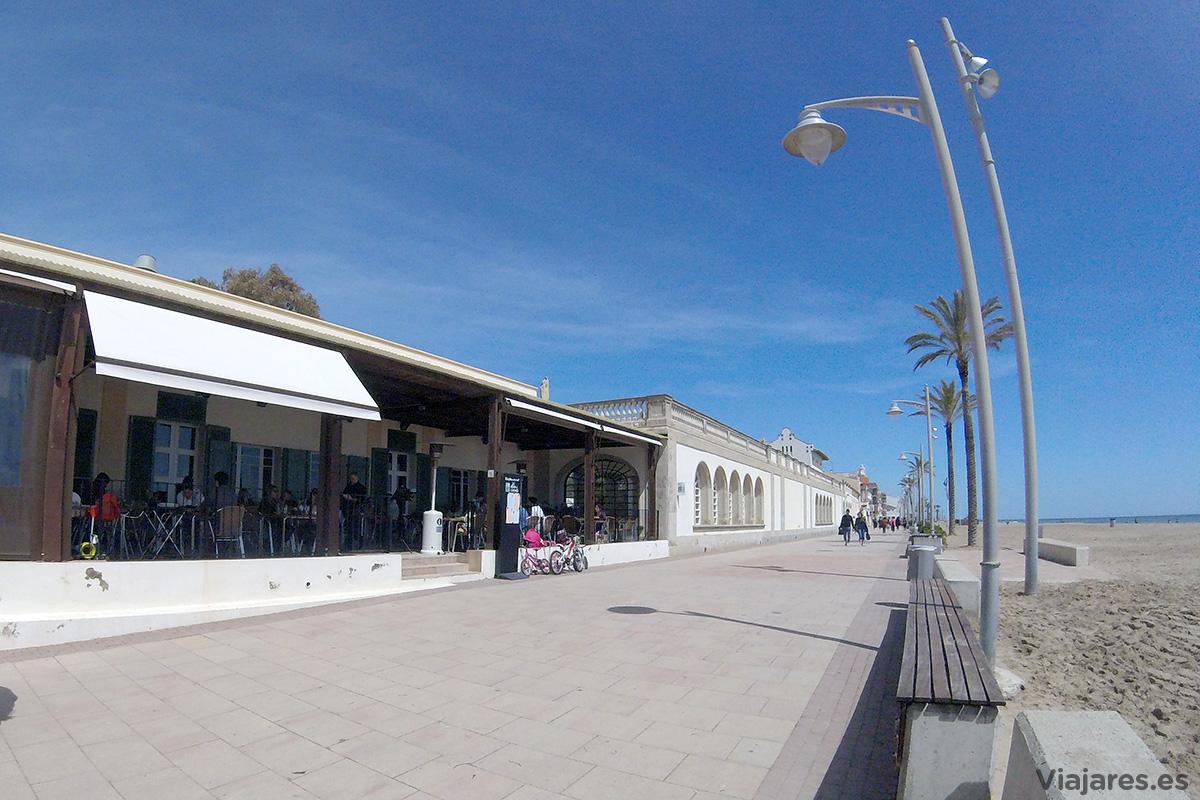 Terraza del restaurante Vil·la Casals