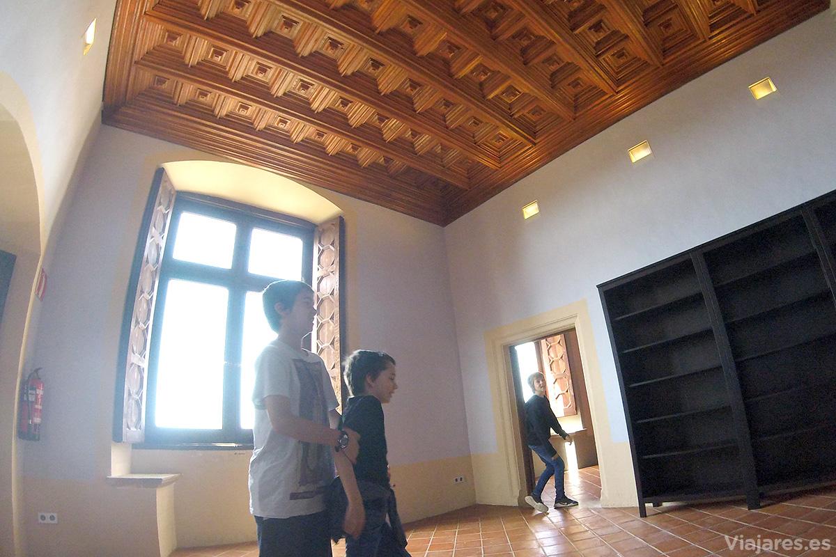 Salas interiores de la fortaleza