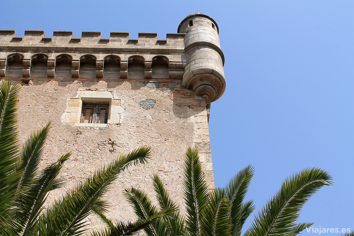 Estructuras defensivas del castillo