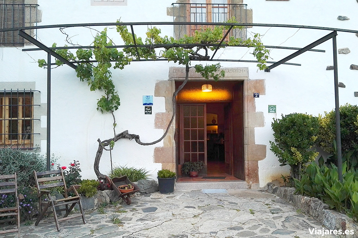 Casa rural Can Rosich, en Santa Susanna
