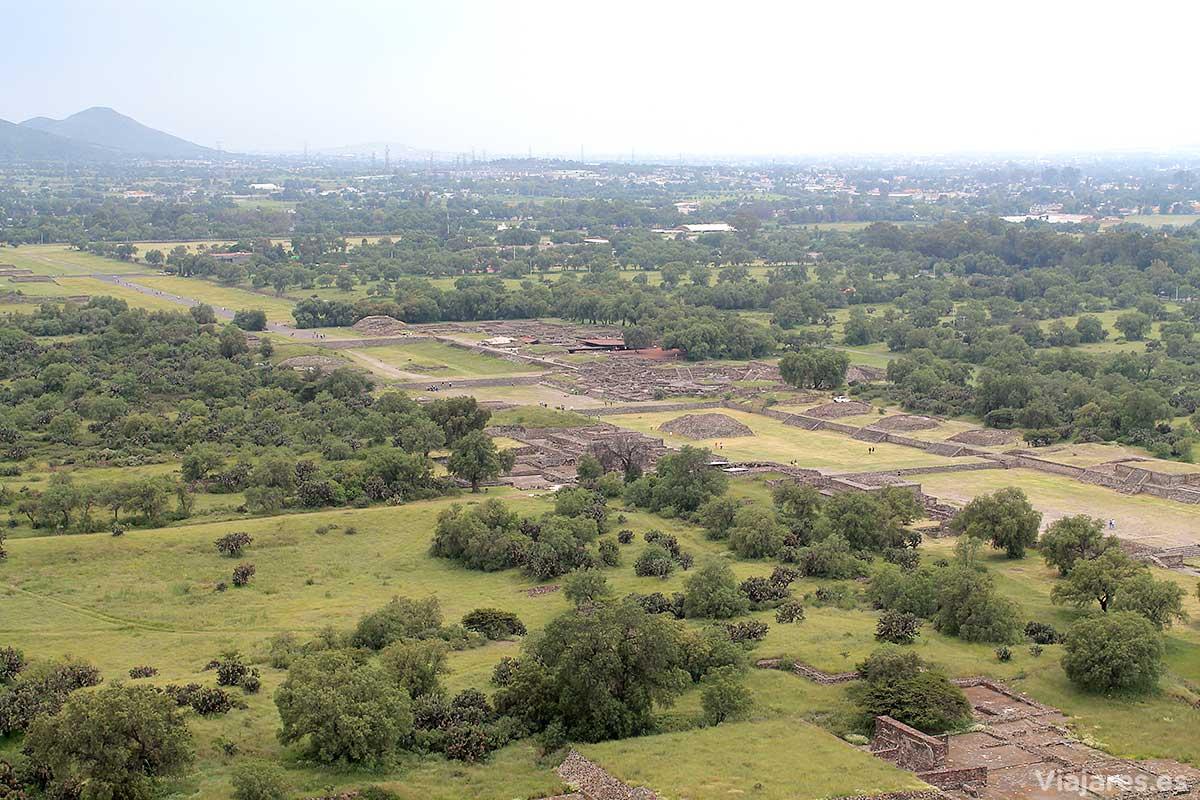 Conjunto arqueológico de Teotihuacan