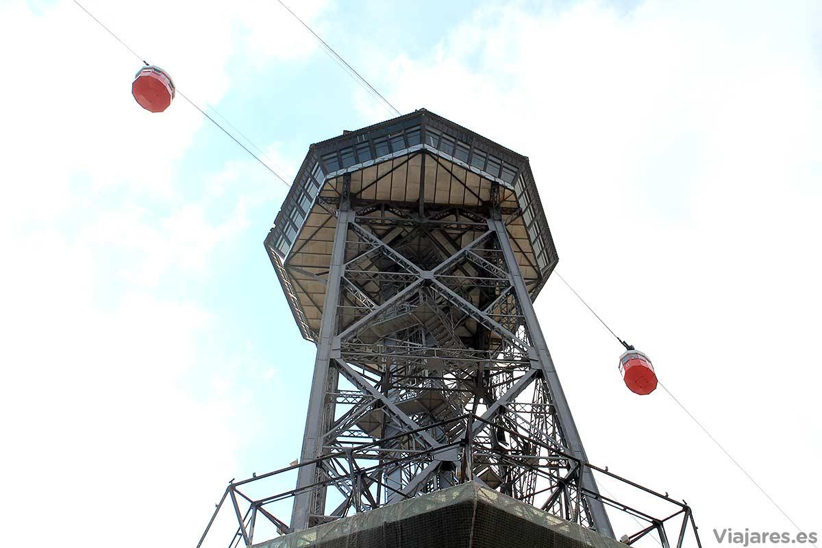 Torre de Jaime I del Teleférico del Puerto