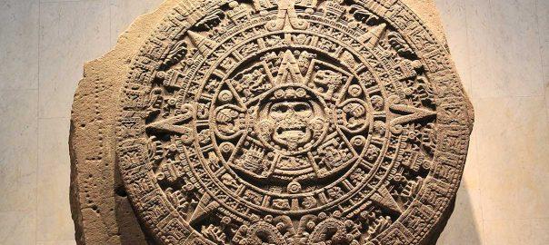 Piedra del Sol en MNA, México
