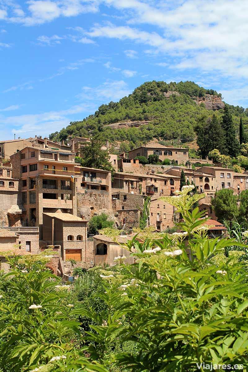 El pueblo de Muro, con marcados desniveles