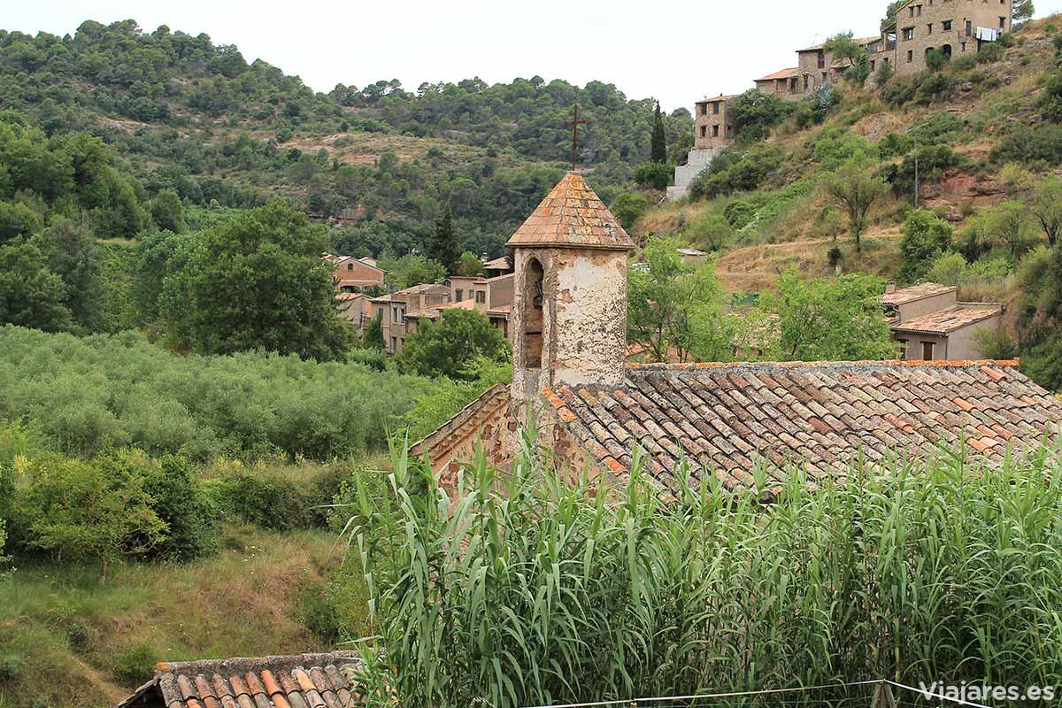 La cercana ermita de Sant Antoni